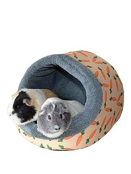 rosewood-carrot-plush-hooded-animal-bed--small