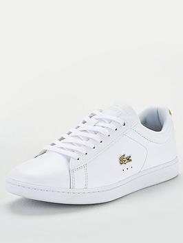 Lacoste Lacoste Carnaby Evo 219 1 Sfa Trainers - White/Gold Picture
