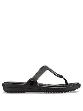 crocs-sanrah-wedge-flip-flop