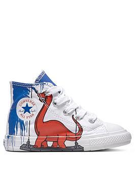 Converse Converse Chuck Taylor All Star Dinosaur Infant Hi-Top ... d2d9a137e