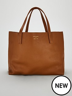 kurt-geiger-london-kurt-geiger-london-violet-horizontal-tan-tote-bag