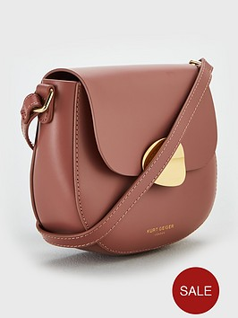 a53022b265e ... KURT GEIGER LONDON Buckle Crossbody Saddle Bag - Pink / Previous /  Next. 5 people have looked at this in the last couple of hrs.