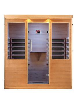 Canadian Spa Canadian Spa Whistler Far Infrared 4 Person Sauna Picture