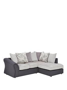 Very Viva Fabric Compact Right Hand Scatter Back Sofa Picture