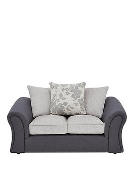 Very Viva Fabric Compact 2 Seater Scatter Back Sofa Picture