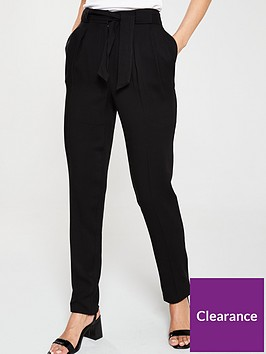 v-by-very-tencelnbspbelted-tapered-leg-trousers-black
