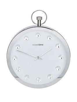 Very Stop Watch Style Crystal Wall Clock Picture