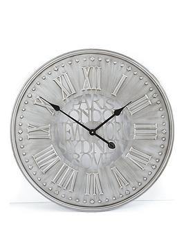 Very Cities Metal Wall Clock 60 Cm Picture