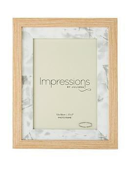 wood-photo-frame-with-marble-effect-inset