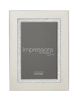 silverplated-photo-frame-glitter-band-4x6
