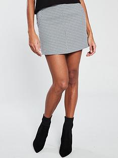 v-by-very-check-skirt-monochromenbsp