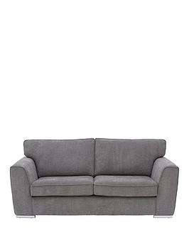 Very Martine Fabric 3 Seater Sofa - Charcoal Picture
