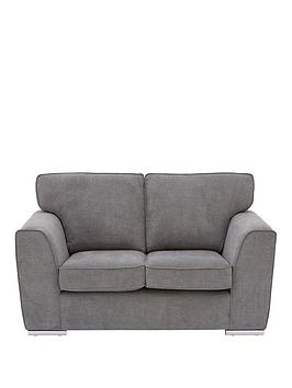 Very Martine Fabric 2 Seater Sofa - Charcoal Picture