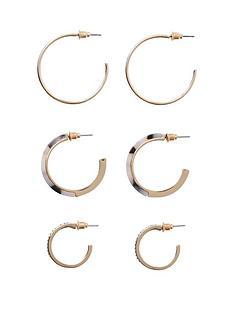 river-island-hoop-earring-pack-gold