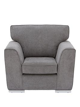 Very Martine Fabric Armchair - Charcoal Picture