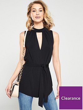 v-by-very-sleeveless-high-neck-tie-top