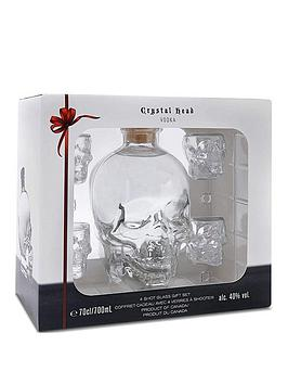 Very Crystal Head Gift Pack With 4 Shot Glasses Picture
