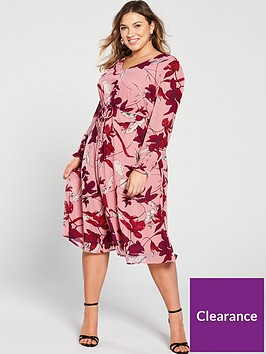 junarose-curve-allia-floral-midi-dress