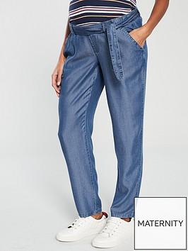 mama-licious-lydia-loose-denim-maternity-trousers-blue