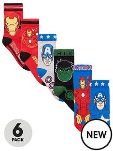 the-avengers-avengers-boys-6pk-socks