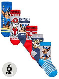 paw-patrol-boys-6pk-socks