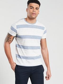 selected-homme-selected-homme-kristian-wide-stripe-t-shirt