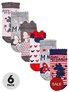 minnie-mouse-baby-girls-6pk-socks