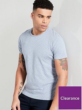 selected-homme-kristian-printed-t-shirt