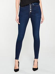 v-by-very-exposed-button-fly-ella-high-waist-skinny-dark-wash