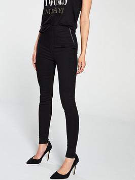 v-by-very-charley-side-zip-skinny-black