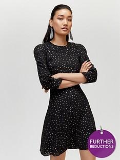 warehouse-irridescent-spot-dress