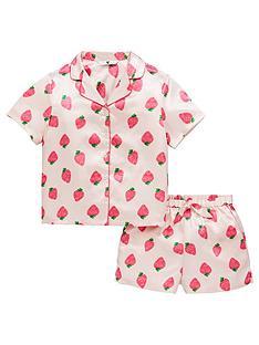 v-by-very-girls-satin-strawberry-pyjama-set-multi