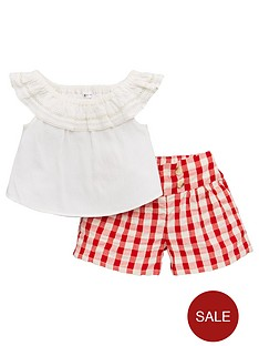 mini-v-by-very-bardotnbsptop-amp-gingham-shorts-outfit-multi