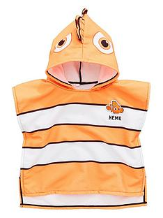 finding-nemo-boys-hooded-poncho-orange
