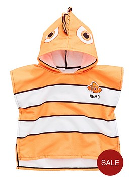finding-nemo-boys-hooded-poncho-orange