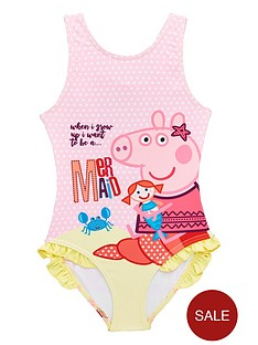 peppa-pig-girls-swimming-costume-yellow