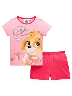 c88f6afc872c Paw Patrol Girls Skye Shorty Pyjamas - Pink
