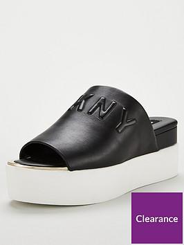 dkny-covo-platform-slide-black