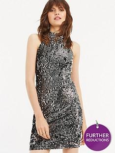 oasis-sequin-velvet-90s-halter-dress-silvernbsp