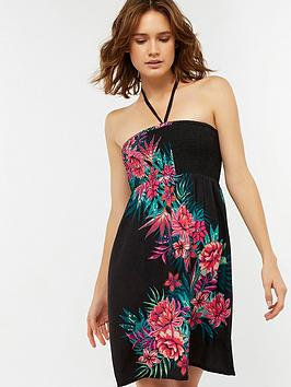 accessorize-lulu-placement-print-bandeau-beach-dress-multi
