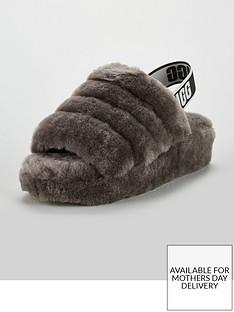 ugg-fluffy-yeah-slide-slipper-charcoalnbsp