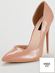 lost-ink-wide-fit-jane-dorsay-court-stiletto-heel-shoes-nude-pink
