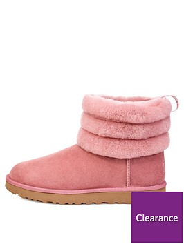 a369dce56ae Fluff Mini Quilted Boots - Pink Dawn