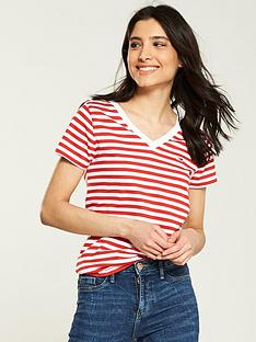tommy-jeans-classic-v-neck-t-shirt-red
