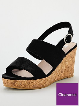 v-by-very-giselle-wide-fit-double-strap-wedge-sandals-black