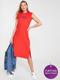 tommy-jeans-logo-tank-dress-red