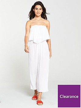 v-by-very-frill-bandeau-beach-jumpsuit-white