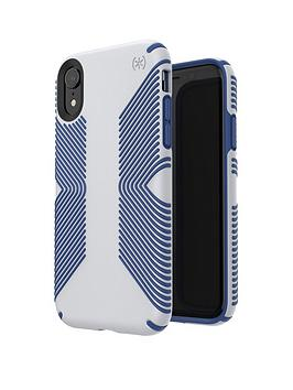 speck-presidio-grip-case-for-iphone-xr-microchip-greyballpoint-blue