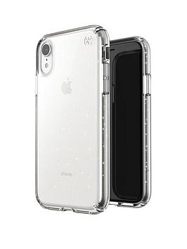 Speck Speck Presidio Clear And Glitter Case For Iphone Xr - Clear Picture