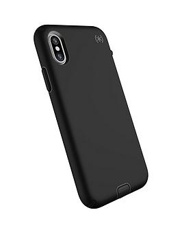 speck-presidio-sport-case-for-iphone-xxs-blackgunmetal-greyblack